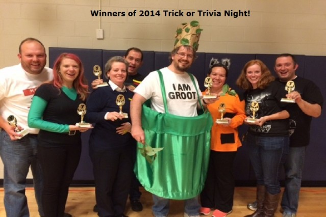 Winners of Trick or Trivia 2014